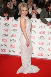 Jorgie Porter – National Television Awards in London 1/25/ 2017