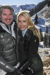 Judith Rakers - Promis im Schnee in Kitzbühel 12/29/ 2016