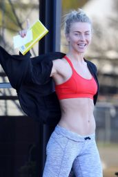 Julianne Hough - Finishes Leading Fer fitness Class in Los Angeles, CA 1/14/ 2017