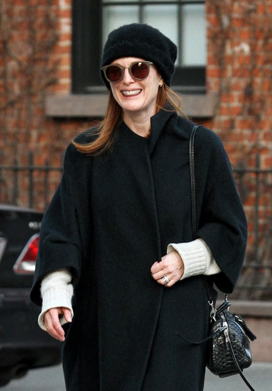 Julianne Moore - Out in Manhattan, NYC 1/16/ 2017
