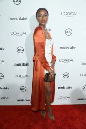 Justine Skye – Marie Claire's Image Maker Awards in West Hollywood 1/10/ 2017