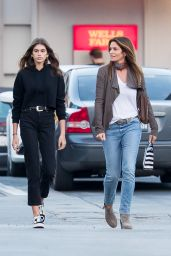 Kaia Gerber & Cindy Crawford - Shopping at Sephora in Malibu, CA  1/11/ 2017
