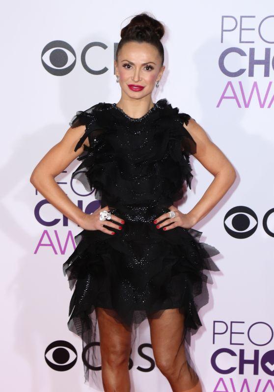 Karina Smirnoff – People's Choice Awards in Los Angeles 1/18/ 2017