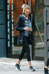 Karlie Kloss - Leaves Her Apartment in West Village, New York 1/16/ 2017