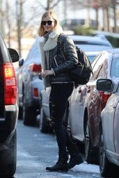 Karlie Kloss WInter Style - Out in NYC 1/6/ 2017