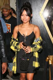 Karrueche Tran - Night Out at Bootsy Bellows, West Hollywood, CA, January 2017