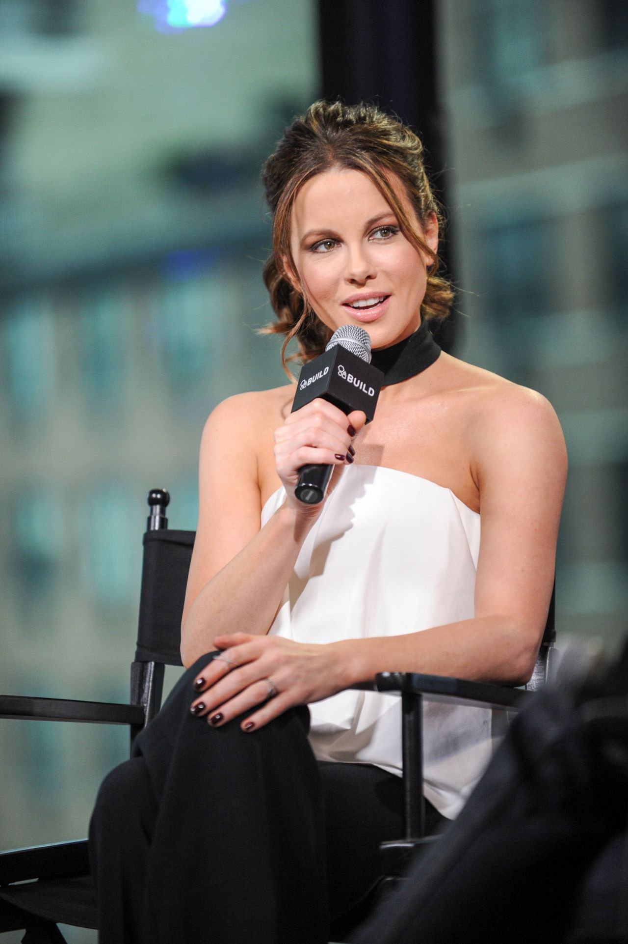 Kate Beckinsale - AOL Build Speaker Series in NYC 1/4/ 2017 Kate Beckinsale