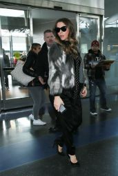Kate Beckinsale at JFK Airport in New York 01/05/ 2017