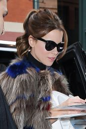 Kate Beckinsale - Promoting Underworld in New York City 1/4/ 2017
