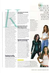 Kate Beckinsale - Shape Magazine January 2017 Issue