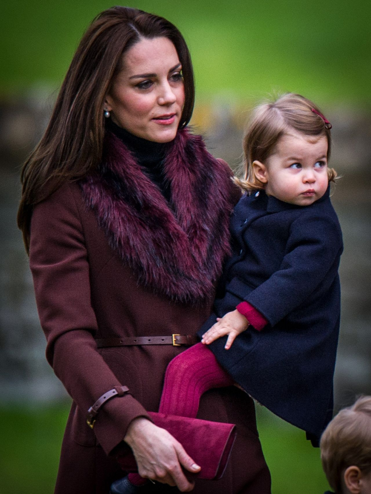Kate Middleton - Arrives at Christmas Day Church Service at St ...