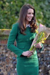 Kate Middleton - East Anglia's Children's Hospices - Quidenham 1/24/ 2017