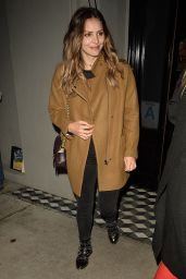 Katharine McPhee at Craigs Restaurant in West Hollywood 1/12/ 2017