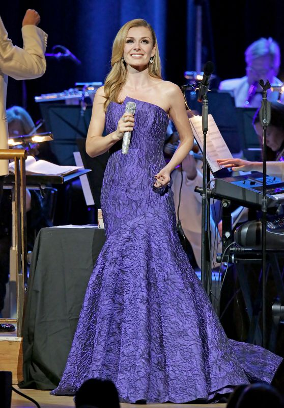Katherine Jenkins - Performing at Manchester Bridgewater Hall, December 2016