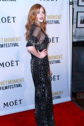 Katherine McNamara – Moet Moment Film Festival in Los Angeles 1/4/ 2017