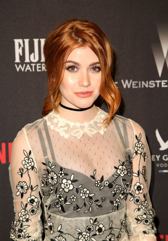 Katherine Mcnamara - The Weinstein Company and Netflix Golden Globes After Party 1/8/ 2017