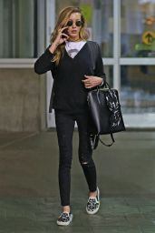 Katie Cassidy - Arrives Back in Vancouver, January 2017