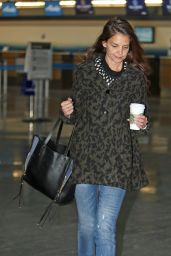 Katie Holmes at JFK in NY 1/9/ 2017