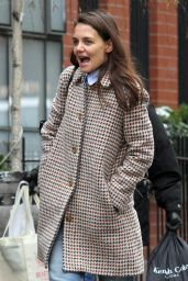 Katie Holmes - Out in New York 1/10/ 2017