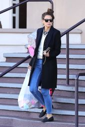 Katie Holmes - Shopping in Beverly Hills 1/14/ 2017