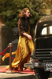 Keira Knightley - Filming For the Movie