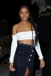 Keke Palmer at Delilah in West Hollywood 1/15/ 2017