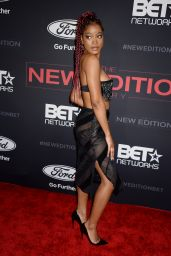 Keke Palmer - The New Edition Story Premiere in Hollywood 1/23/ 2017