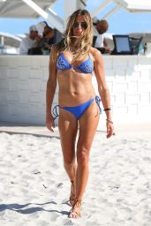 Kelly Bensimon in Bikini - Miami Beach 1/2/ 2017