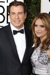 Kelly Preston – Golden Globe Awards in Beverly Hills 01/08/ 2017