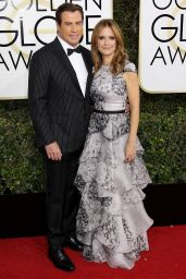 Kelly Preston – Golden Globe Awards in Beverly Hills 01/08/ 2017