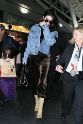 Kendall Jenner at JFK Airport 1/12/ 2017