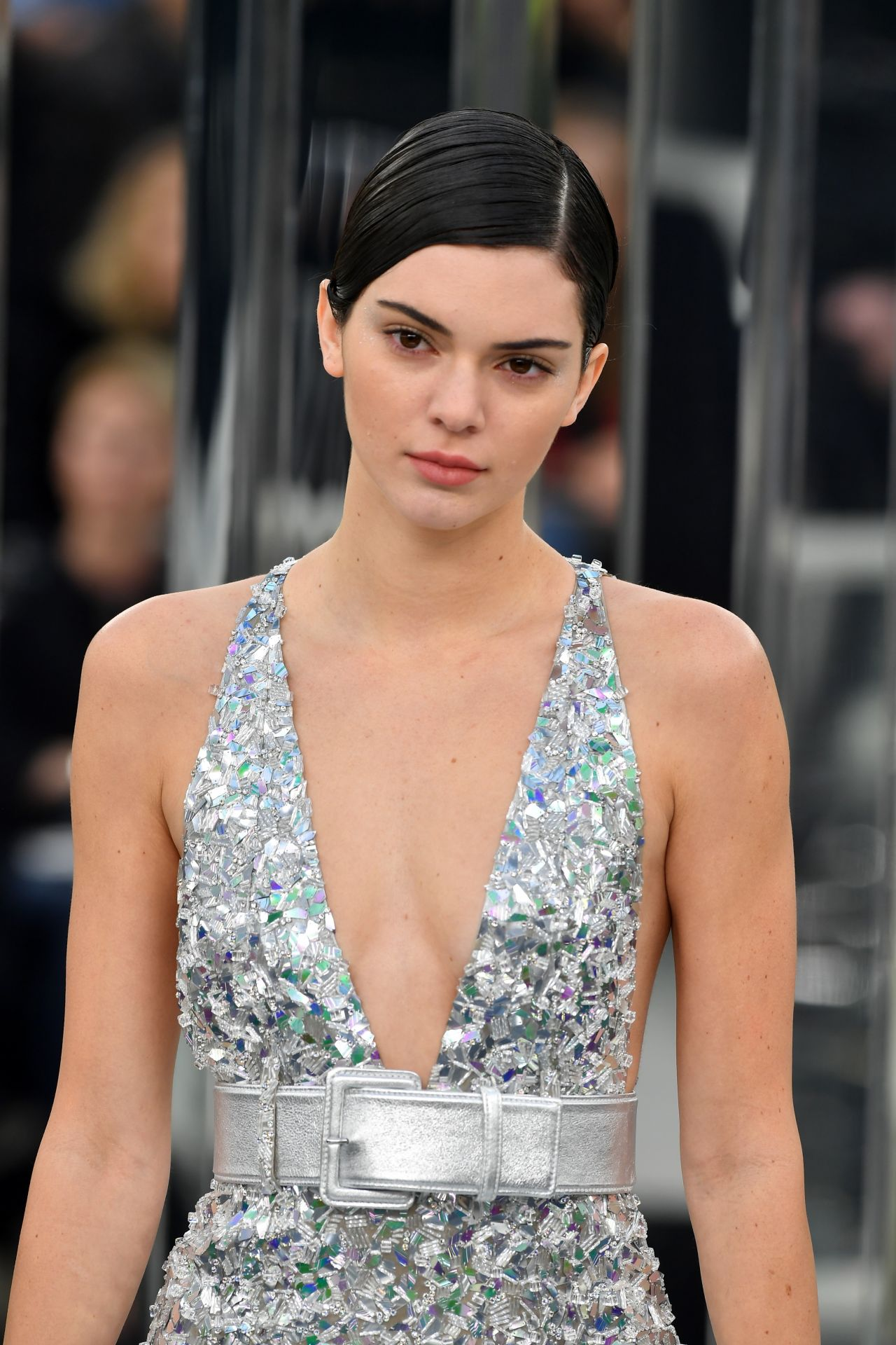 62ec8bcdcab6 Kendall Jenner - Chanel Show, Spring Summer 2017 Haute Couture Fashion Week  in Paris 1