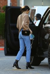 Kendall Jenner in Jeans - Out in Beverly Hills, CA, December 2016