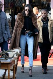Kendall Jenner - Out in Paris, France 1/22/ 2017