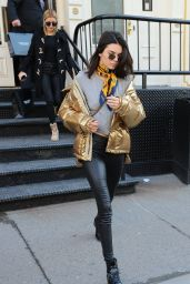 Kendall Jenner Urban Style - Out in Tribeca in NYC 1/16/ 2017