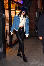 Kendall Jenner Winter Style - Out in New York City 1/15/ 2017