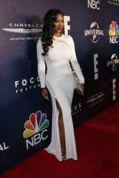 Kenya Moore – Golden Globe Awards at Beverly Hilton Hotel in Beverly Hills 01/08/ 2017