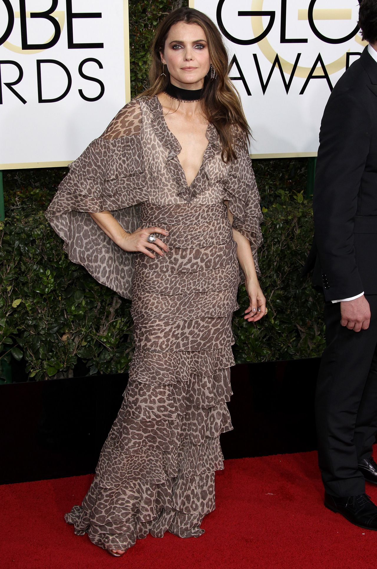 Keri Russell Golden Globe Awards in Beverly Hills