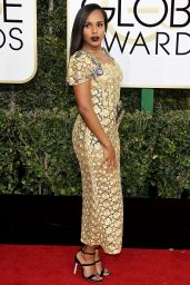 Kerry Washington – Golden Globe Awards in Beverly Hills 01/08/ 2017