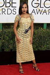 Kerry Washington – Golden Globe Awards in Beverly Hills 01/08/ 2017