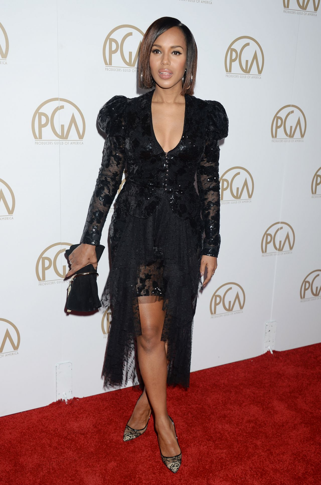 Kerry Washington Producers Guild Awards In Beverly Hills 1 28 2017