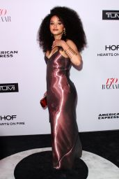 Kiersey Clemons – Harper's Bazaar 150 Most Fashionable Woman Cocktail Party in LA 1/27/ 2017