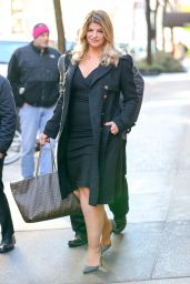 Kirstie Alley - Leaving The Chew in New York City 1/11/ 2017