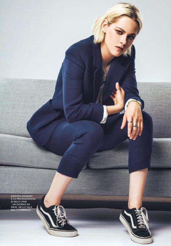 Kristen Stewart - Grazia Magazine Italy January 2017 Issue