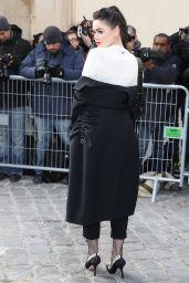 Kristina Bazan - Dior Fall Winter 2017 Show in Paris 1/23/ 2017