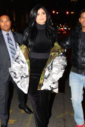 Kylie Jenner - Night out in New York 1/16/ 2017