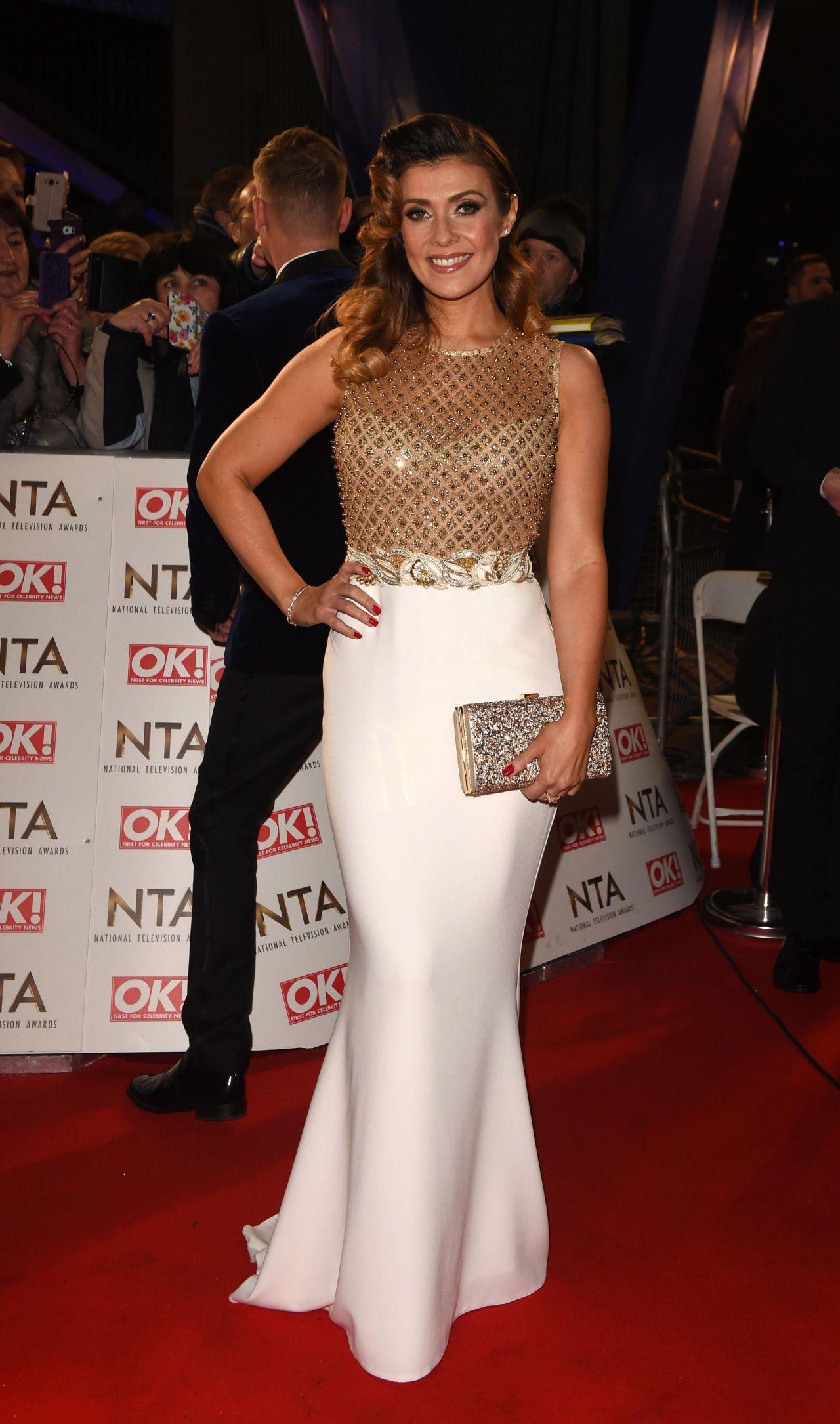 Kym Marsh National Television Awards In London 1 25 2017