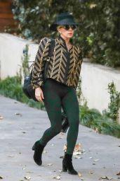 Lady Gaga Visit to Bradley Cooper