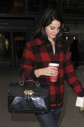 Lana Del Rey - Arriving at Heathrow Airport in London 1/5/ 2017