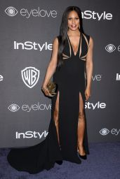 Laverne Cox – InStyle and Warner Bros Golden Globes After Party 1/8/ 2017